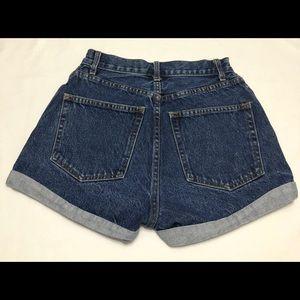 John Galt California High Rise Mom Denim Shorts